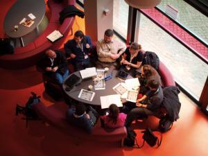 eine Session beim Educamp Bremen 2011