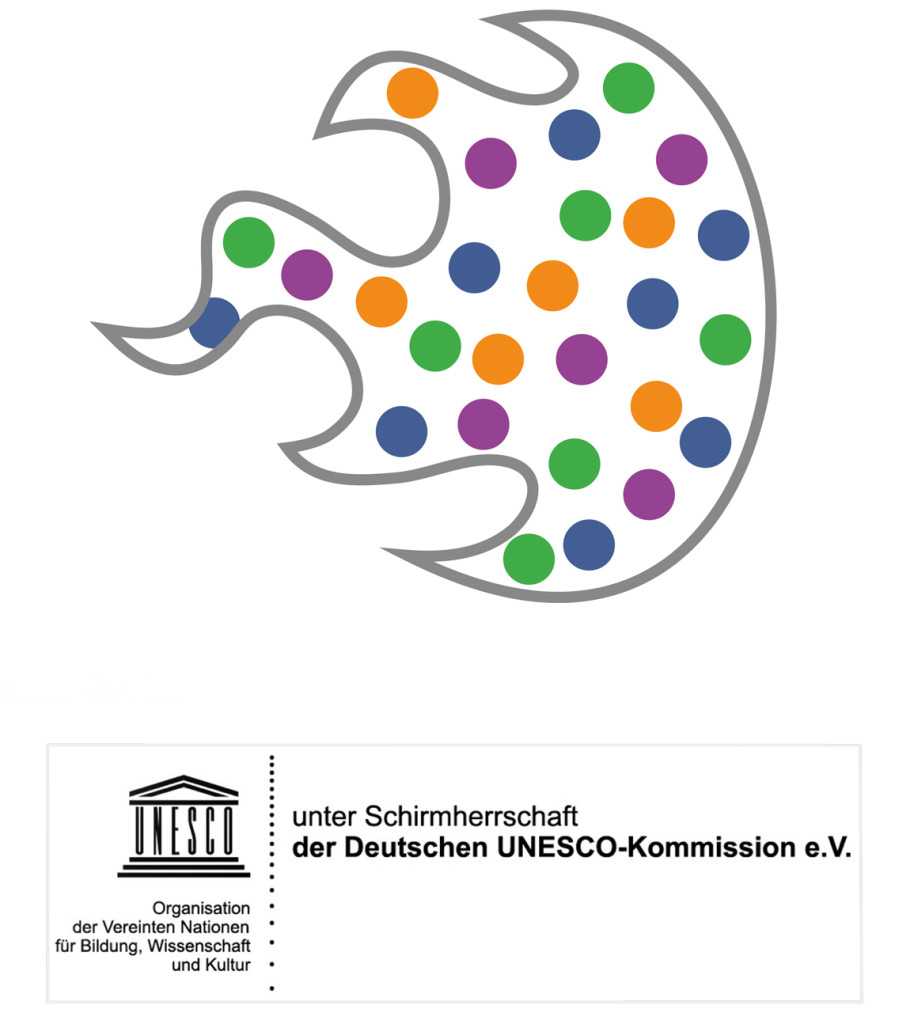 Logos InklusionsCamp und unter Schirmherrschaft der DUK